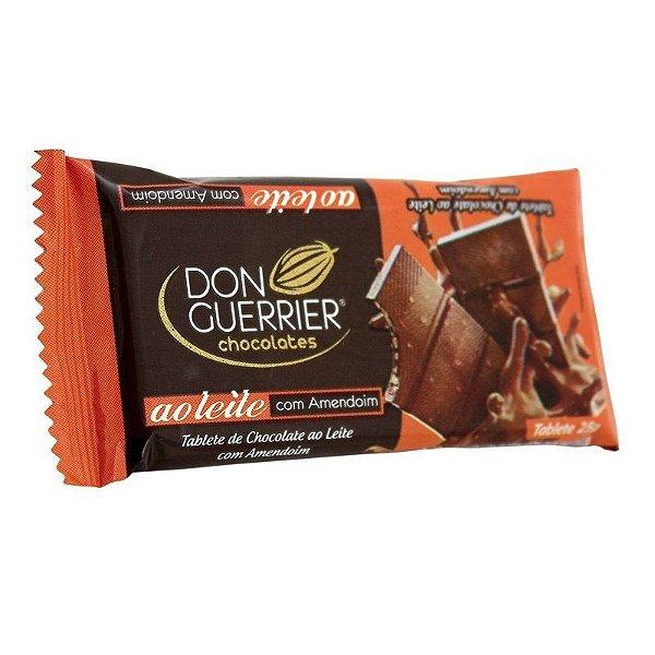 Tablete de Chocolate ao leite com Amendoim