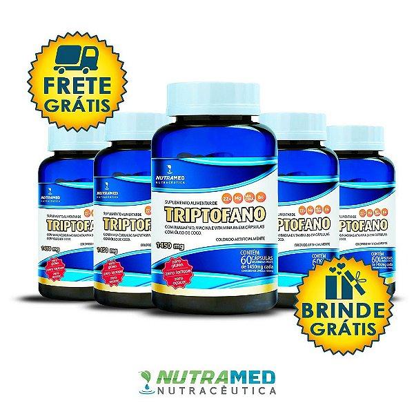 Triptofano + Vit. B3, B6 e Magnésio - Kit 5 unidades