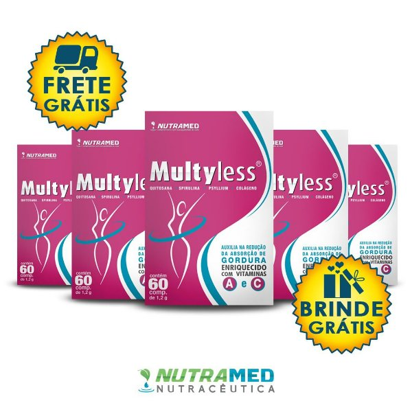 Multyless - Kit 5 unidades