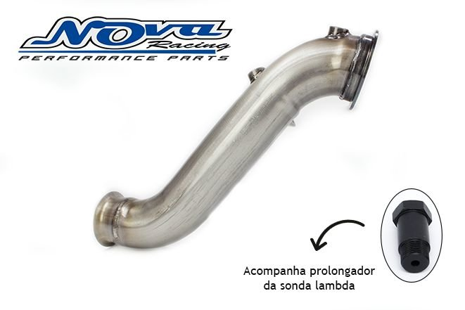 DOWNPIPE MERCEDES C200 | C250 | C300 - 2014> (W205) - INOX 409