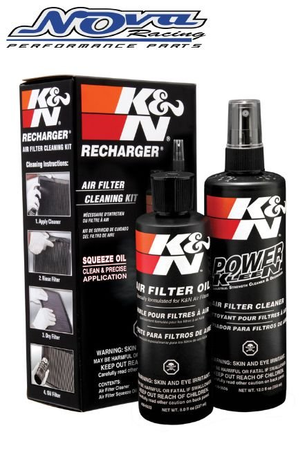 KIT LIMPEZA FILTRO DE AR K&N RECHARGER - (COD. 99-5050)