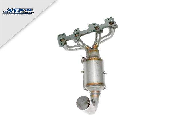 TUBO MOTOR C/ CATALISADOR/COLETOR PALIO/SIENA 1.0 8V FIRE FLEX 2005/2008