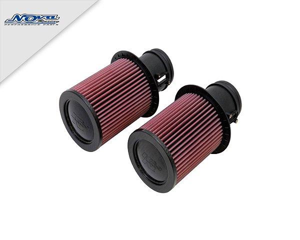 FILTRO AR INBOX K&N - AUDI R8 5.2 V10 | LAMBORGHINI GALLARDO 5.2 V10 - (COD. E-0669)