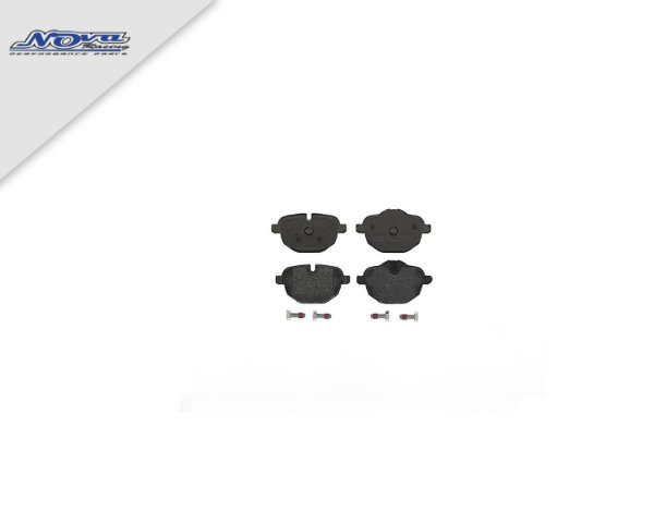 KIT PASTILHAS TRASEIRA BMW X3 | X4 BREMBO
