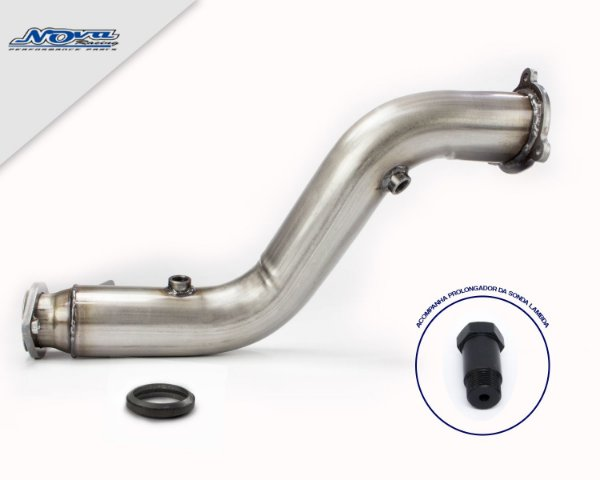 DOWNPIPE MERCEDES C180 | C200 | C250 CGI TURBO (W204) - INOX 409