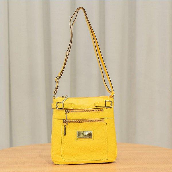 2ee66e689 Bolsa Transversal feminina de couro Chloe amarela - Enluaze | Bolsas ...
