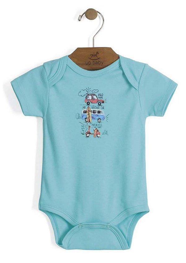 Body em Suedine com Estampa Digital - Up Baby