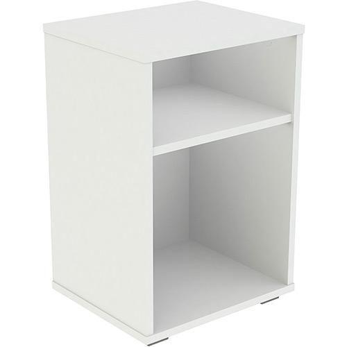 Mesa de Cabeceira Multifuncional Branca - 100% MDF 18mm