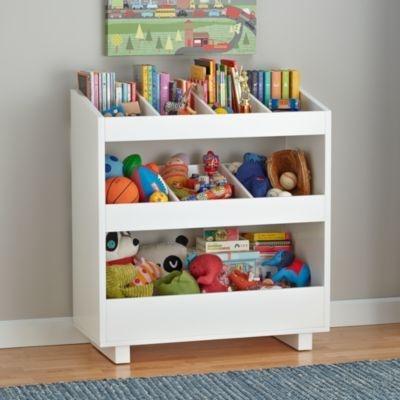 Brinquedoteca em Madeira Cor Branca - Organize os Brinquedos do Seu Filho! - 100% MDF