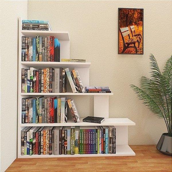 Biblioteca de chão para livros - 100% MDF
