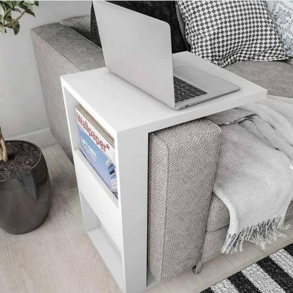Mesa lateral de sofá para Notebook - 100% MDF
