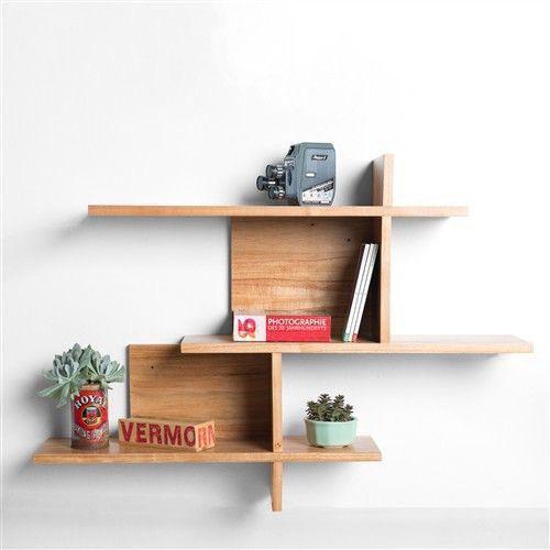 Prateleira de madeira para decoração de ambientes - 100% MDF - Opções de cores