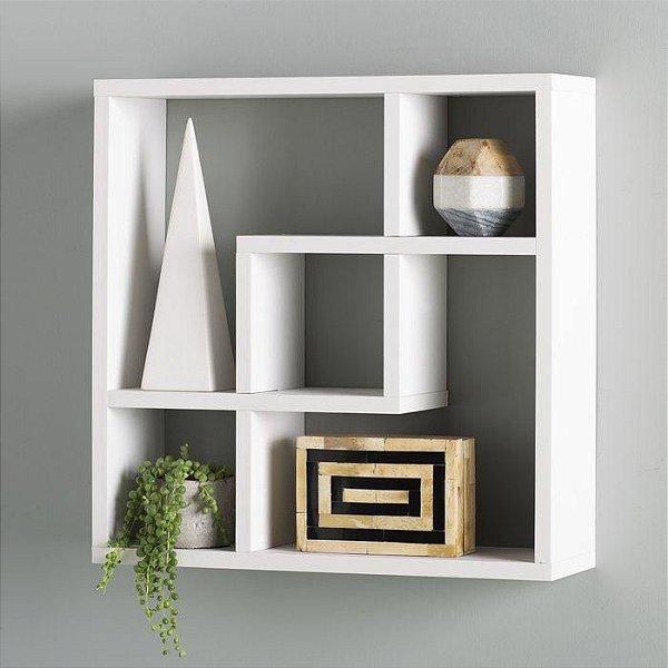 Nicho de Parede Decorativo - 50x50x15 - 100%MDF