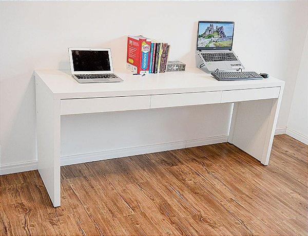 Mesa Escritório com Gaveta - Escrivaninha com Gaveta - 100%MDF
