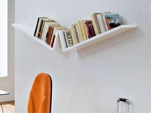 Prateleiras para livros - Design Inovador - 90x20