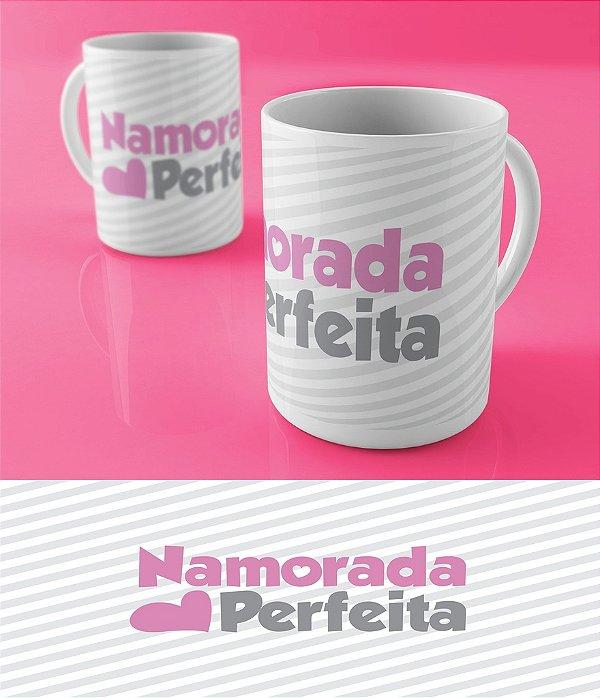 Caneca Personalizada Linha Alfa - Namorada Perfeita - Compre agora!
