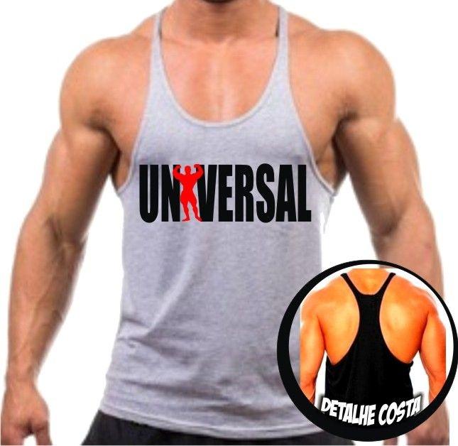 Camiseta Regata Cavada Universal