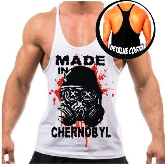 Camiseta Regata Cavada Made in Chernobyl