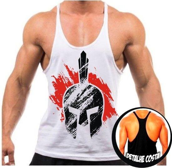 Camiseta Regata Cavada Spartan 3