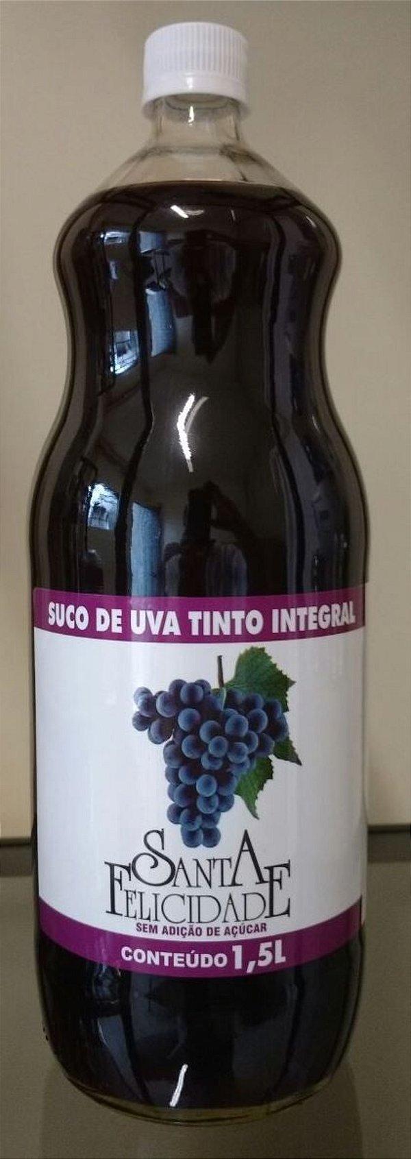 Suco de Uva Integral - Garrafa  1,5 Litros