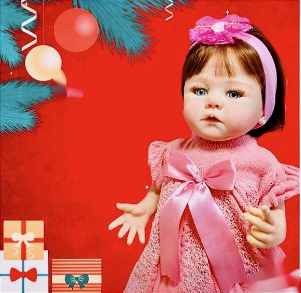 BEBÊ REBORN GIOVANNA BABY - SUPER EXCLUSIVA!! TODA EM SILICONE!!! TOP!! PRONTA ENTREGA!!! HIPER REALISTA!!!