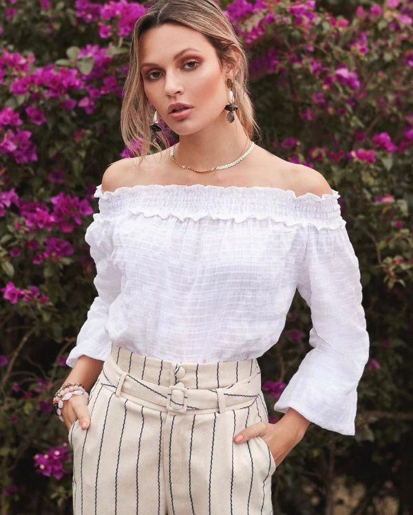 Blusa Ciganinha Cotton