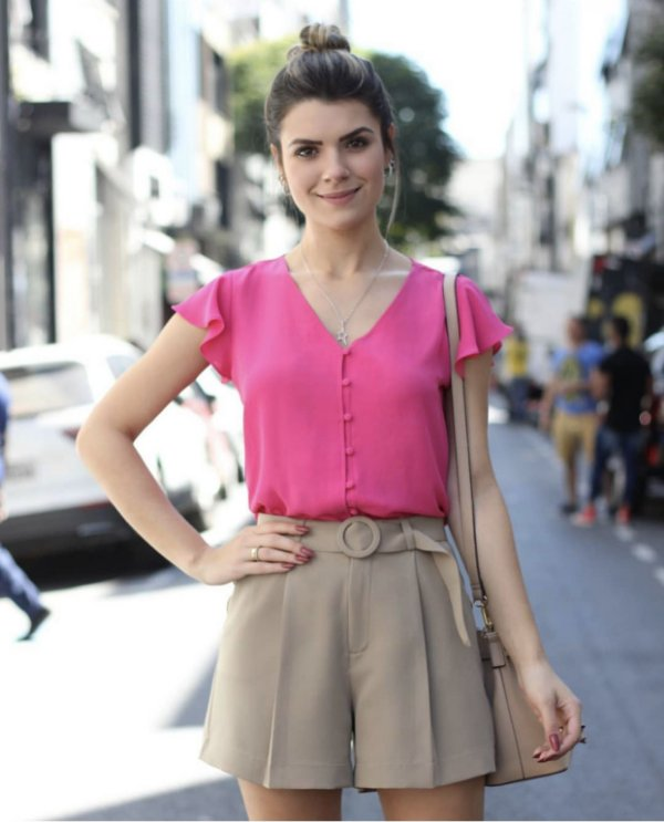 Blusa Crepe - Agnes (cores)