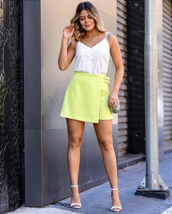 Shorts Saia Alfaiataria - Tina (Cores)
