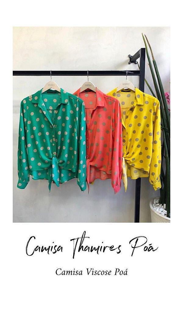 Camisa Poá - Thamires