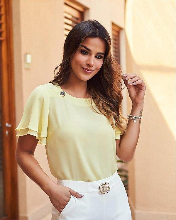 Blusa Crepe - Selena