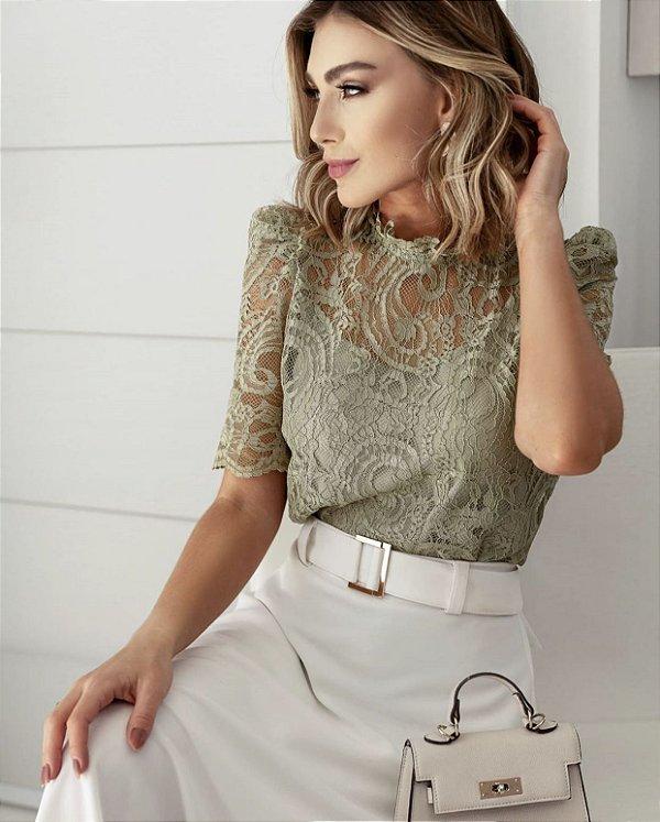 Blusa Renda - Mariah