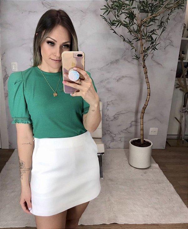 Blusa Malha Canelada - Giovanna