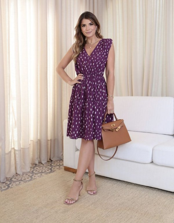 Vestido Crepe - Mariane