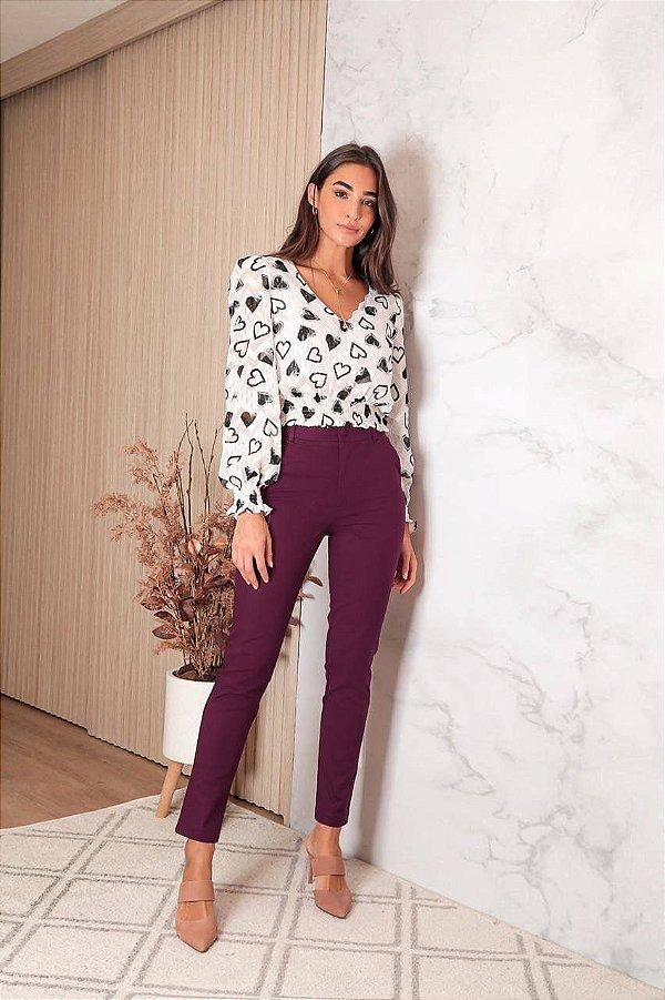 Calça Skinny Cotton ( modelagem pequena)