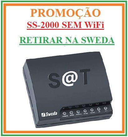 SAT Fiscal - SS-2000E (ETHERNET-SEM WiFi) - SWEDA [PROMOÇÃO] {RETIRAR NA FABRICA} ## REVENDA AUTORIZADA ##