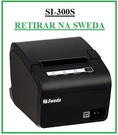 Impressora Térmica de Cupom Fiscal SI-300S (USB/SERIAL) - SWEDA {RETIRAR NA FABRICA} *** REVENDA AUTORIZADA ***