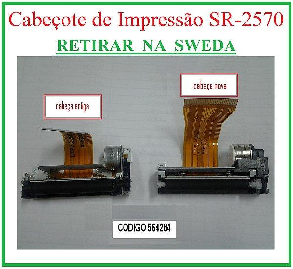 Cabeçote SR-2570 VER.1 (+Adaptador p/ VER.2) - SWEDA {RETIRAR NA FABRICA} ## REVENDA AUTORIZADA ##