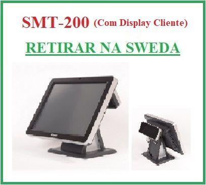 """Monitor Touch 15"""" SMT-200 COM Display Cliente - SWEDA {US$} {RETIRAR NA FABRICA} *** REVENDA AUTORIZADA ***"""