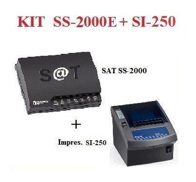 SAT FISCAL SS-2000E + Impressora de Cupom SI-250 [KIT] - SWEDA ## REVENDA AUTORIZADA ##