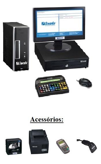 Computador Comercial PDV - SWEDA *** REVENDA AUTORIZADA ***