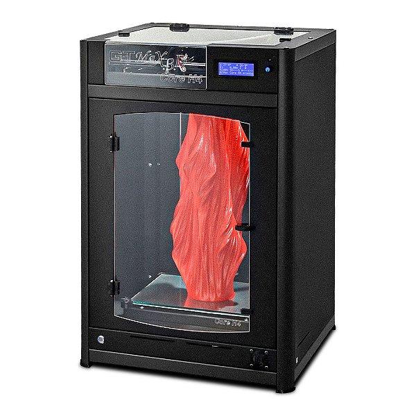 Impressora 3D Pro - GTMax3D Core H4  + 1 kg de filamento ABS