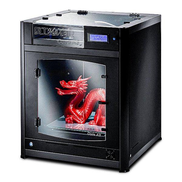 Impressora 3D Pro - GTMax3D Core A3 + 1 kg de filamento ABS