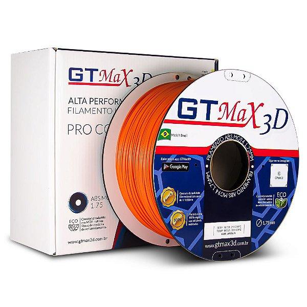Filamento ABS Premium MG94 1.75mm GTMax3D - Laranja