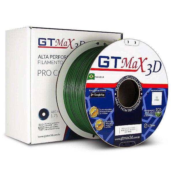 Filamento ABS Premium MG94 1.75mm GTMax3D - Verde