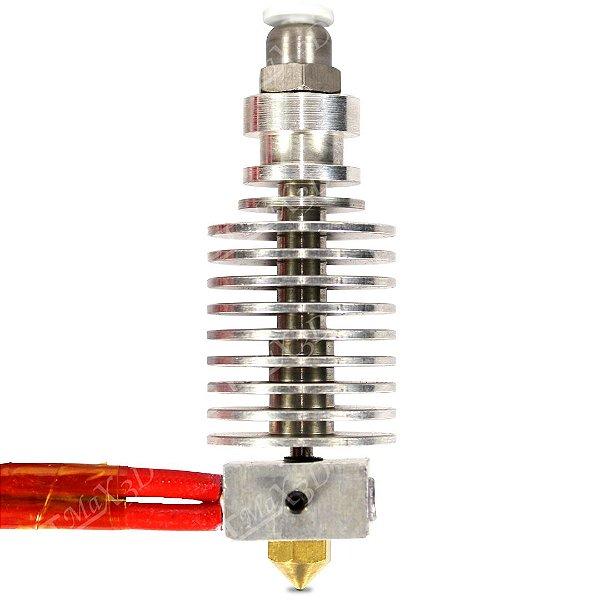 Hotend Allmetal Bowden (bico) GTMax3D - Completo e montado