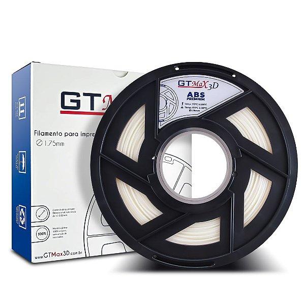 Filamento ABS Premium 1.75mm GTMax3D - Natural