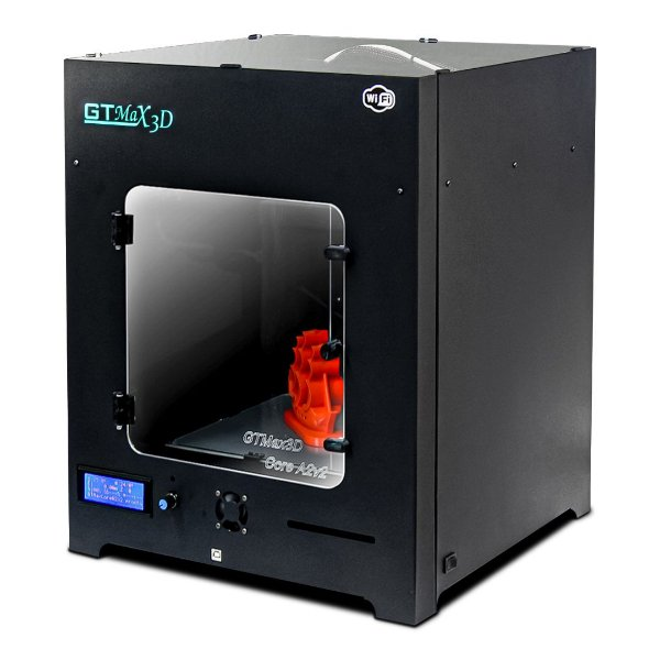 Impressora 3D Pro - GTMax3D Core A2v2 + 1 kg de Filamento ABS