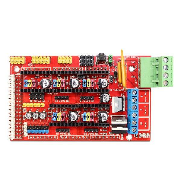 Ramps Reprap1.4 - Impressora 3d - Para Arduino