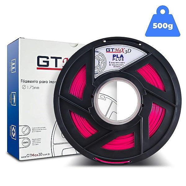 Filamento PLA 1.75mm GTMax3D - Rosa - 500g