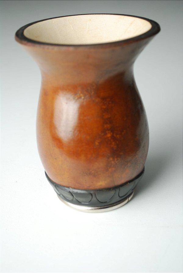 CuiaTaça com pé de metal lisa - 205
